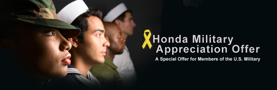 honda military discount tampa