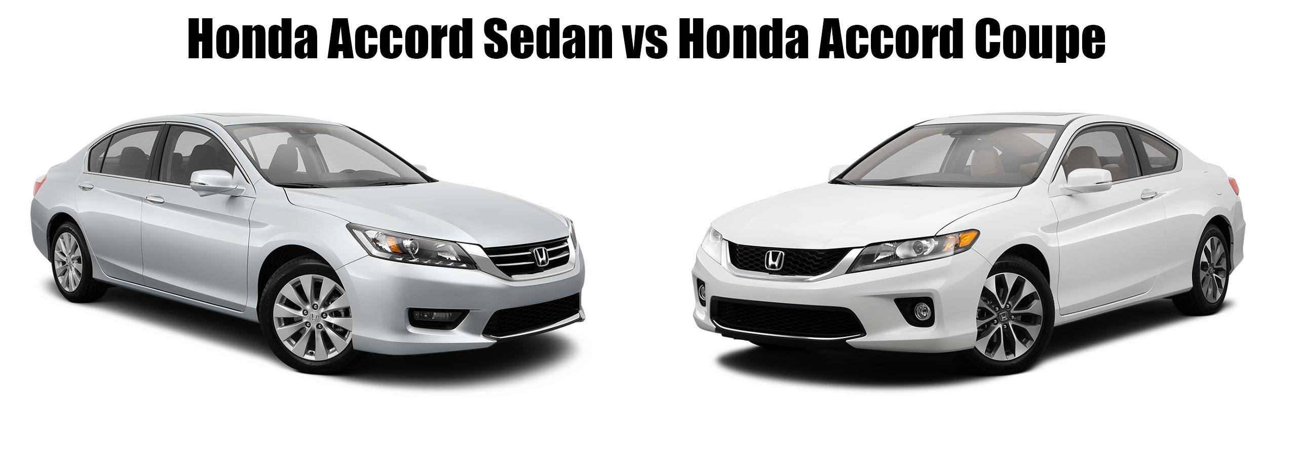 Honda Accord Coupe Vs Sedan Comparison Hendrick Honda
