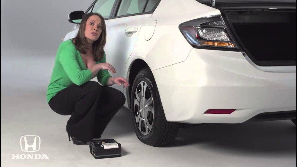 honda tire repair kit