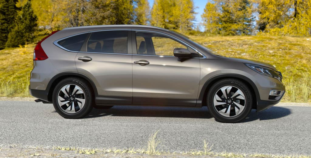 2017 Honda Cr V Urban Anium Metallic