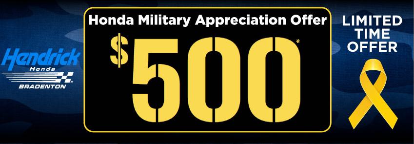 Honda Military Appreciation Program Bradenton