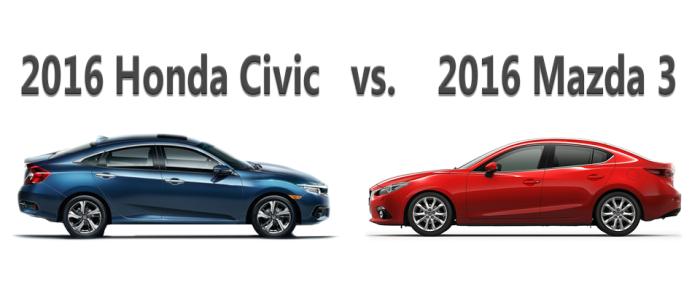 2016-Honda-Civic-vs-2016-Mazda-3