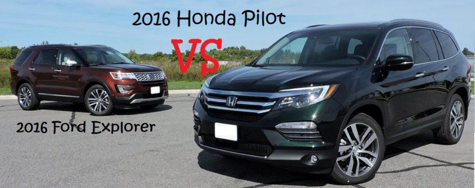 2016 Honda Pilot Comparison Bradenton