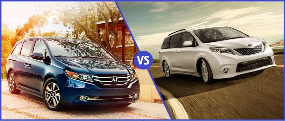 2016 honda odyssey vs the toyota sienna hendrick honda bradenton. Black Bedroom Furniture Sets. Home Design Ideas