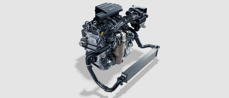 2017-Honda-CR-V Turbo Engine