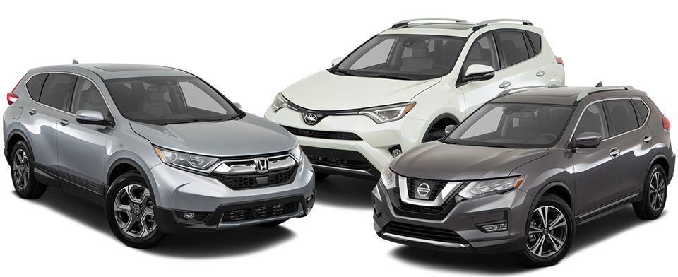 2017 CR-V vs RAV4 vs Rogue
