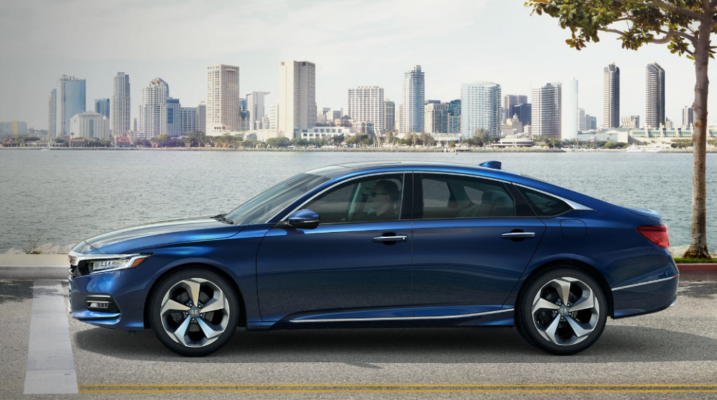 2018 Honda Accord Blue Exterior