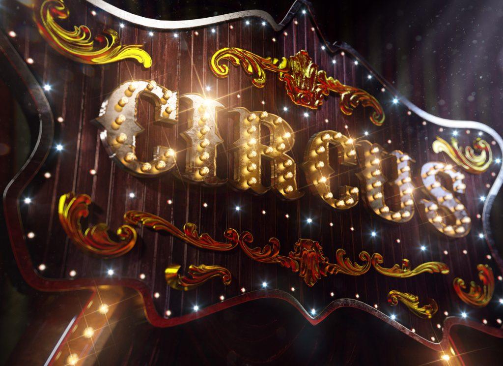 2017 Shrine Circus signboard