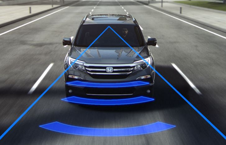 2016 Honda Pilot Collision Mitigation Braking System Bradenton