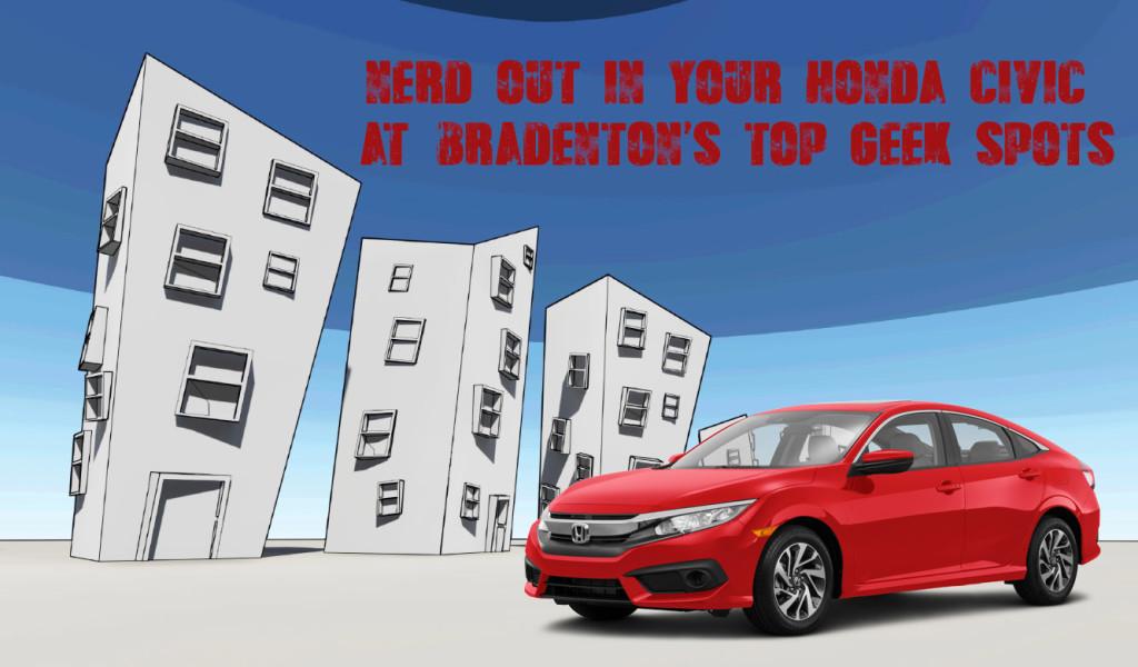 2016 Honda Civic Bradenton Top Geek Spots