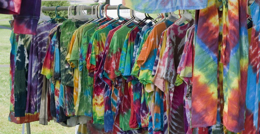 DIY Tie-Dye shirts