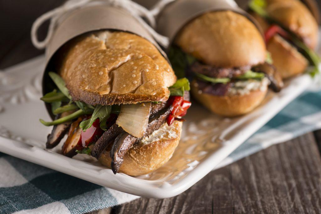 Vegetarian Sub Sandwich at Restaurants