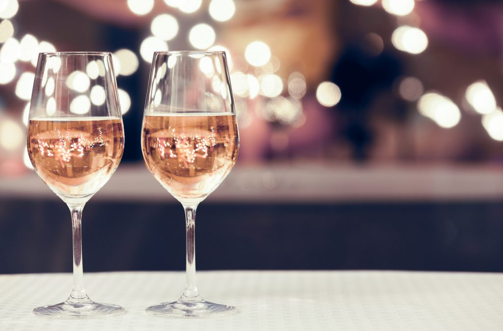 Wine tasting for Valentine's Day