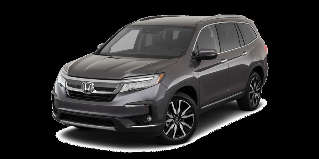 Gray 2019 Honda Pilot